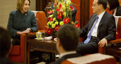 Nancy Pelosi rare visit to Tibet November 2015