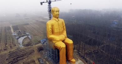 New Mao Statue
