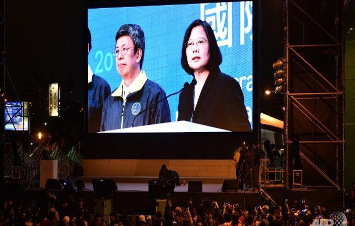 Tsai Ling-wen Becomes Taiwan''s First Women President