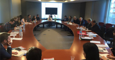 A Meeting Held At EU HQ On The Development Of Tibetan Democracy