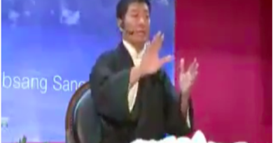 I Am The Most Experienced Sikyong: Dr. Lobsang Sangay