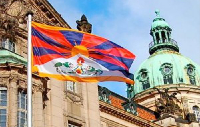 1212 German Mayors Hoist Tibetan National Flag On March 10