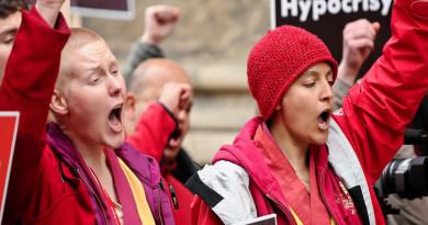 International Shugden Community Ends Protesting The Dalai Lama
