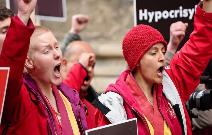 International Shugden Community Ends Protesting The Dalai Lama