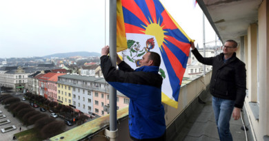 Czech Rallies For Free Tibet With 740 Town Halls Hoisting Tibetan Flags