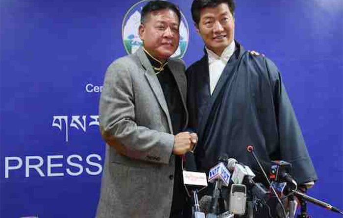 Sikyong And Speaker Jointly Apologizes For Disappointing the Dalai Lama During Elections