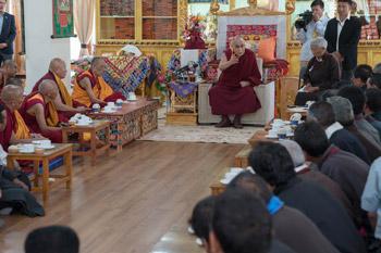 dalai lama in ladakh