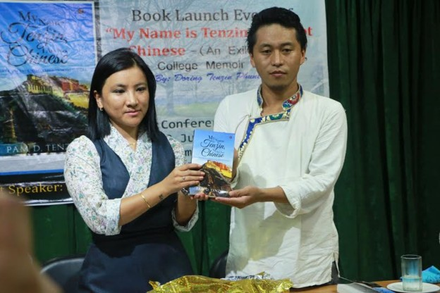 Sharling Dadon Launches Tenzin Phuntsok's Debut Book