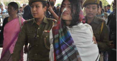 Indian Woman Decides To End Hunger Strike After 16 Years