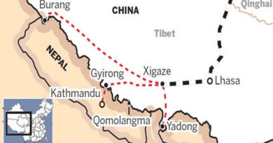China Wants To Connect Tibet To Nepal And India By Railway