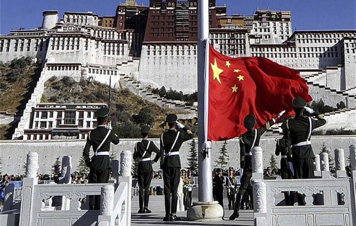 Tibetans Can't Celebrate Festivals Without Chinese Flag
