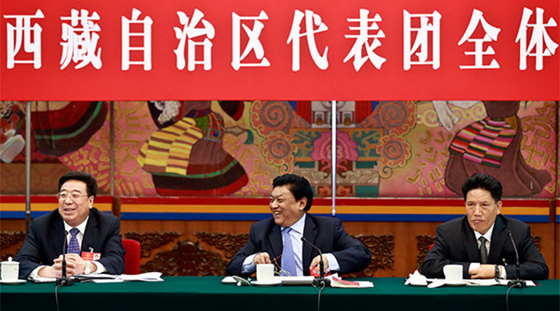 China Puts A New Communist Party Secretary In Tibet