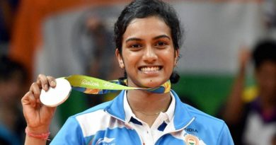 P. V. Sindhu Gets India Its First Silver Medal Of Rio Olympics