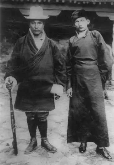 A Rare Gendun Chophel's Picture Found In Bhutan in 2006