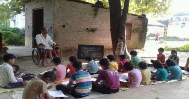 Disabled Man Dedicated To Educate Rural Children