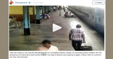 Video: Constable Saves Girl's Life A Railway Station