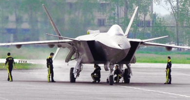 China's Super Fighter Aircraft In Tibet Not Signalling India?