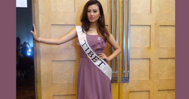 Miss Tibet 2016 Tenzin Sangnyi At Miss Global Pageant