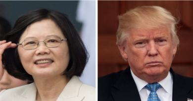Trump's Direct Phone Talk With Taiwan Infuriates China