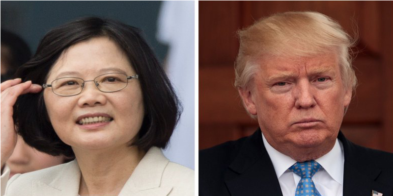 Trump's Direct Phone Talk With Taiwan Infuriates China