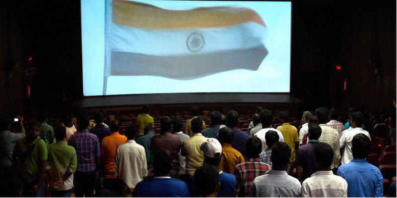 'Stay still!' Indian Government To Disabled People During National Anthem