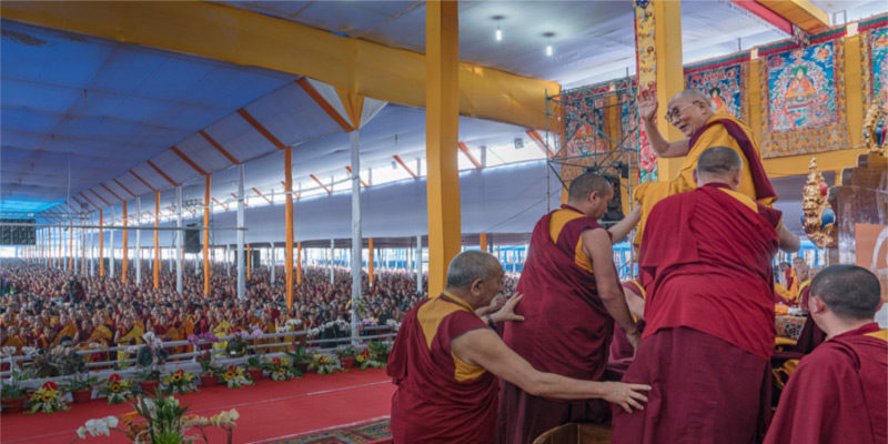 Despite China Blocking Tibetans, Dalai Lama's Kalachakra Continue Drawing Devotees