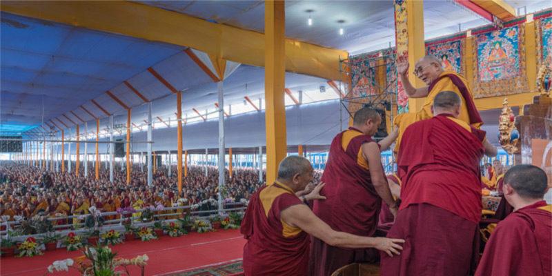 Despite China Blocking Tibetans, Dalai Lama's Kalachakra Continue Drawing Devotees