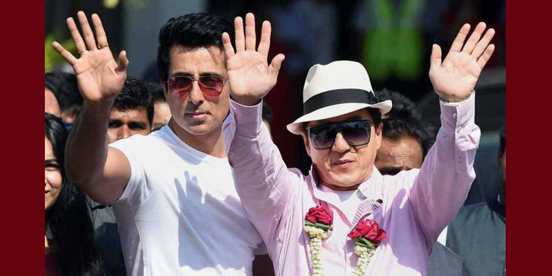 Chinese Action Star Jackie Chan Promoted Movie In India