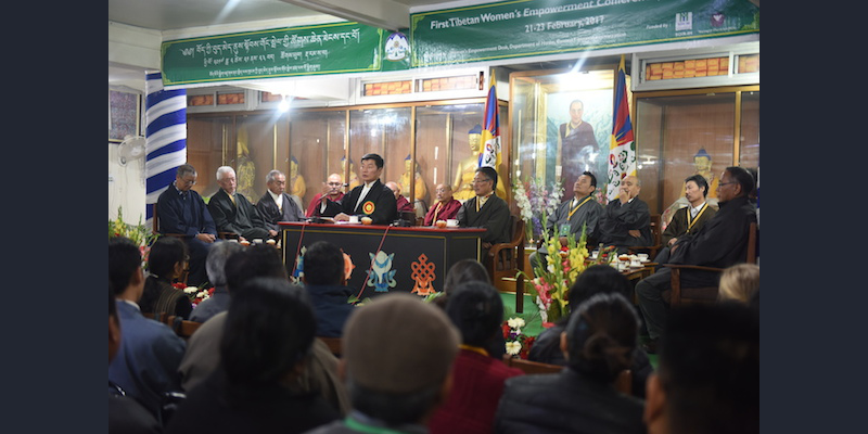 First Ever Tibetan Women's Empowerment Conference Criticised For 'Lack of Women'