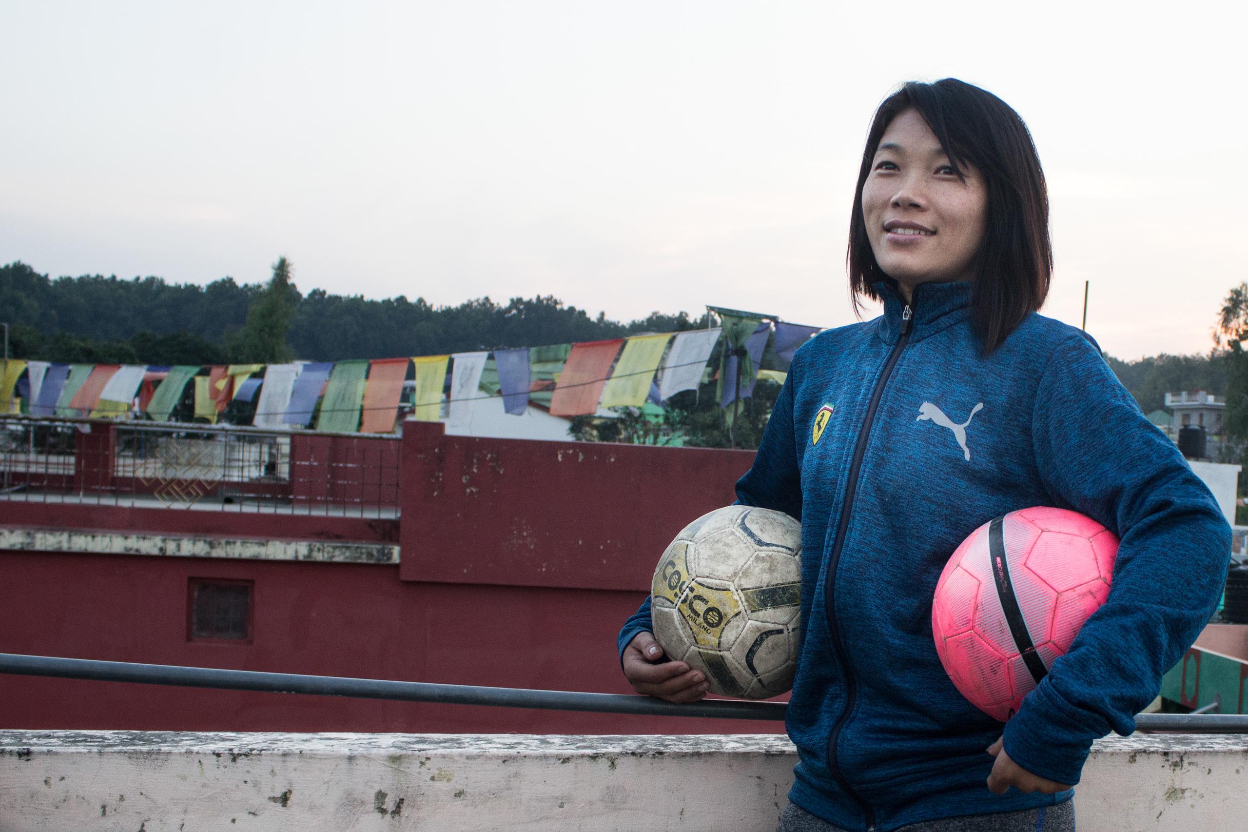 Tibetan Women Soccer