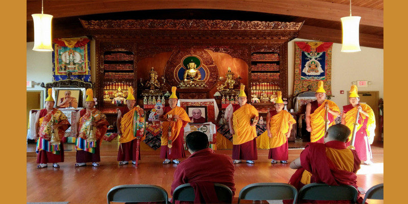 Mystical Arts of Tibet Enthrals Students and Professors at US University