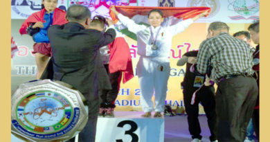 Tibetan Girl Wins Bronze In International Thai Boxing Championship