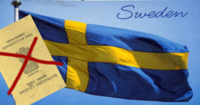 Sweden Does Not Accept India's Tibetan Travel Document 'IC'