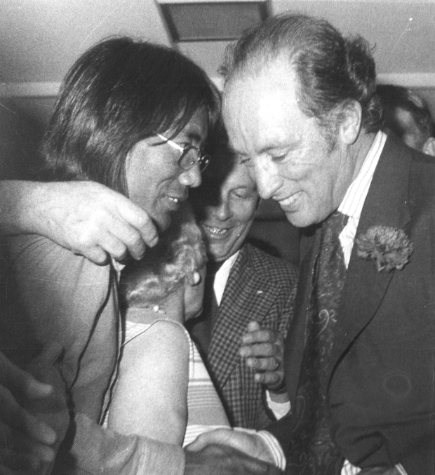 Tsering Dorjee Wangkhang meeting with former Prime Minister Pierre Trudeau.