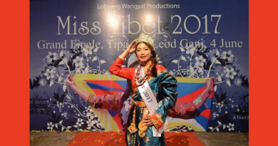 Miss Tenzin Paldon Crowned 2017 Miss Tibet