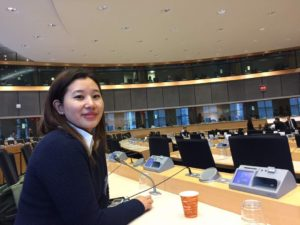 At the European Parliament