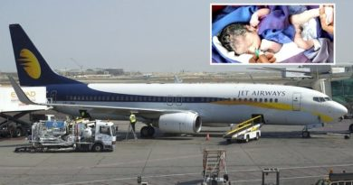 Jet Airways Gifts Lifetime Pass To Baby Born On Flight