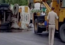 Tanker Overturned, Spills Away 20,000 Liters Petrol