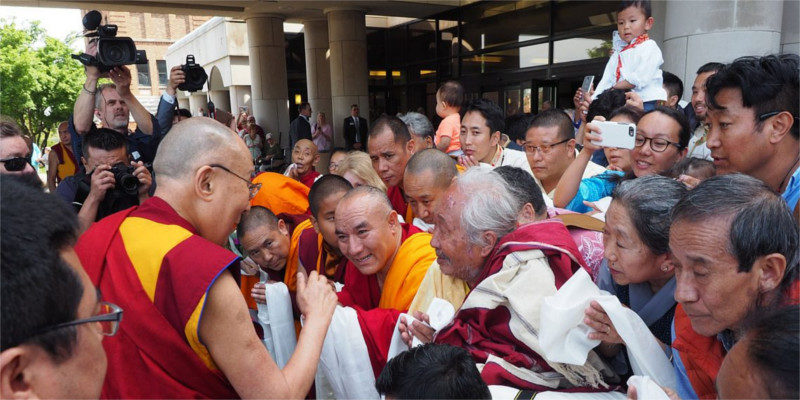 Dalai Lama Arrived To Mayo Clinic For Health Check Up