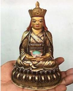 Tibetan Saing Terton Pema Lingpa idol