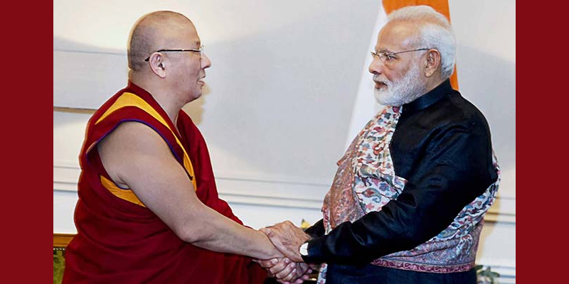 Narendra Modi Gifts Tibetan Kanjur Books To Russian Temple