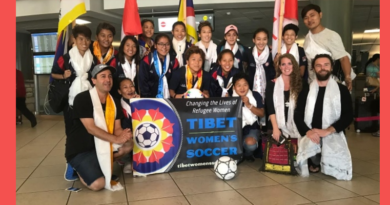 Tibetan Soccer Girls Land In Vancouver To Actually Play!