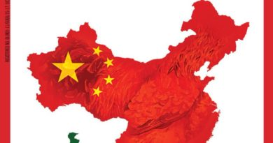 India Today magazine exclude Tibet and Taiwan from China map