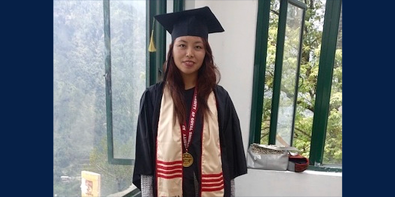 Dawa Tsamchoe Awarded Gold Medal For Academic Excellence In MBA