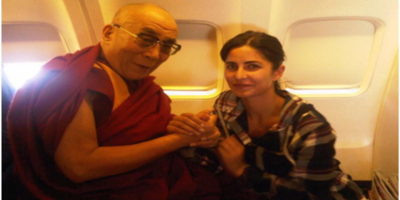 Bollywood Actress Katrina Kaif Wishes Dalai Lama On His Birthday