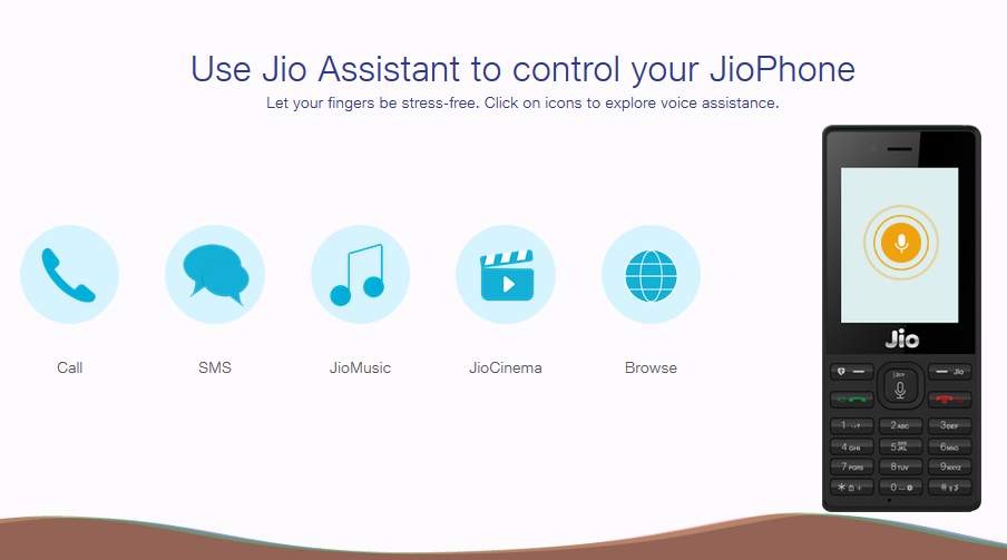 Use Jio Assistant to control your JioPhone