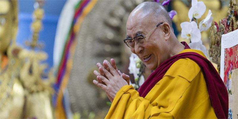 Dalai Lama Begins Four Days Teaching At Dharamsala