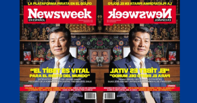 Dr. Lobsang Sangay Takes News Week Cover Story