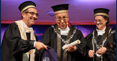 Dalai Lama Conferred Honorary Degree By University Of Pisa