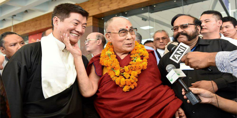 Dalai Lama Returns To Dharamsala From Europe Tour
